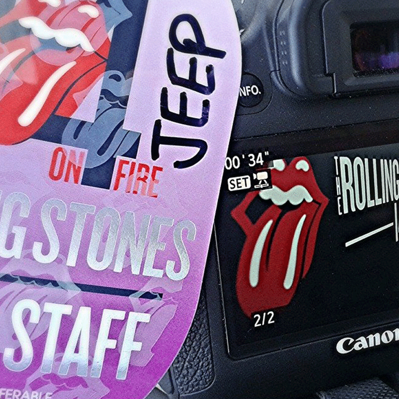 Jeep & The Rolling Stones '14 on Fire Tour' - Europe - 2014